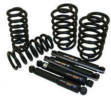 """63-72 Chevy Truck Drop Coil Springs & Shock Set - 4"""" Front 6"""" Rear"""