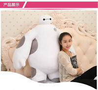 "Super 39"" 100cm New White Big Hero 6 Baymax Robot Plush Stuffed Toys Doll Gift"