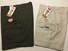 NWT Wrangler Men's Cargo Shorts Ripstop Rip-Stop Tech Phone Pocket Relaxed Flex
