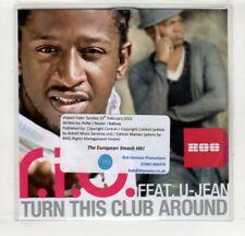 (HM501) R.I.O. ft U-Jean, Turn This Club Around - 2012 DJ CD