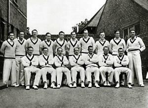 OLD PHOTO Sport Cricket Pic 1948 The Australia Cricket Team