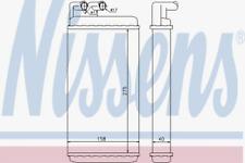 Wärmetauscher, Innenraumheizung für Heizung/Lüftung NISSENS 70220