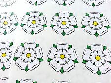 English Yorkshire White Rose stickers glass decals wedding invitation seals (58)