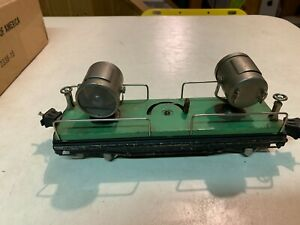 Lionel Prewar - 820 Green Searchlight Car
