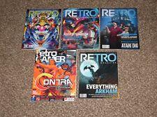 Great Shape! Retro Video Gamer Game Magazine Bundle 5 Issue Bundle Contra Lot