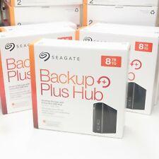 8TB Seagate Backup Plus Hub External 2 port USB 3.0 PC/MAC Hard Drive 3.5 HDD