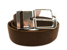Kids Belts. Boys & Girls adjustable Elasticated Silver Buckle Belts 1-6 Years