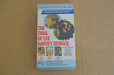 FACTORY SEALED BOXED SET VHS MOVIE VIDEO TAPE THE TRIAL OF LEE HARVEY OSWALD