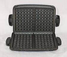 EUC George Foreman Waffle Iron Plate Set Evolve Grill TSK-2610 #1 #2 Replacement