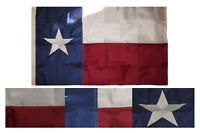 3x5 Embroidered State of Texas 210D Nylon Flag 3'x5' Banner (Made in USA)