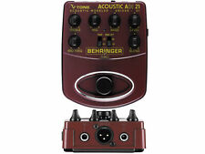 Behringer ADI-21 Acoustic Amp Modeler/ DI - New [AR]