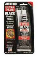 ABRO RTV BLACK SILICONE GASKET MAKER SUPER HIGH TEMP 371 Degree SEALANT 85G TUBE