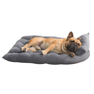 Soft Sofa Pet Cat Dog Bed Comfortable Warm Pet Bed Sleeping Bed Cushion Bed Gray
