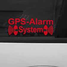 10 GPS Alarm Aufkleber Tattoo Folie die cut Auto Haus Fenster Scheibe Innenseite