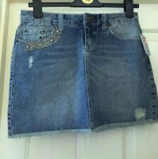 Mark One Size 8 Denim Mini Skirt Blue New
