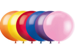 Qualatex 3' Foot Latex Balloon (Multiple Colors Available) NEW