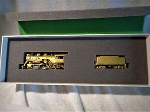 Mint & Boxed Overland Models HO Ma+Pa 2-8-0 #42 w/Elesco OMI-1508 Brass Loco