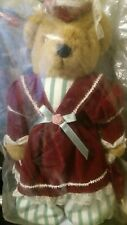"Avon Fine Collectibles ""Victorian Teddy"" NEW w/ Stand and COA"