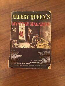 Vintage Ellery Queen's Mystery Magazine 11/1948