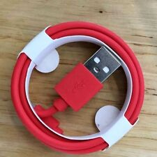 Red Original BASTEC USB Charger Cable for iPhone 7 6S 6 5S 5C SE iPad Data Cord