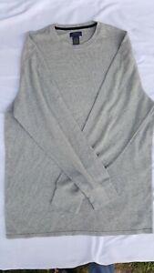 Polo Ralph Lauren Men's Outdoors Shirt 3XLT Tall Gray Long Sleeve Cotton Layers