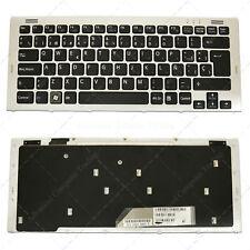 Teclado Español para SONY 148090161 Silver Frame Black