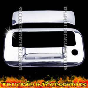 For LINCOLN Mark LT 2004 2005 2006 2007 Chrome Tailgate Handle w/ Keyhole Cover