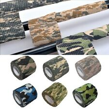 5CM*4.5M Outdoor Camo Wrap Rifle Hunting Accessories Camouflage Stealth Tape