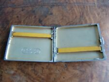 Altes Zigarettenetui 835 Silber Auto Union Oldtimer Cigarette Case