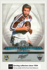 2012 Select NRL Dynasty Triple Centurions Card TC11 Geoff Gerard (Panthers)