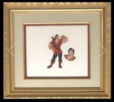 Disney BEAUTY and the BEAST Original Model Cel of Gaston Very Rare Cel