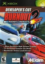 Burnout 2: Point of Impact - Developer's Cut (Microsoft Xbox) *Without Manual*