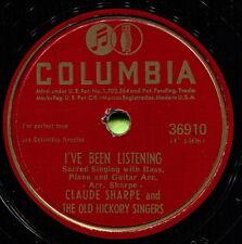 CLAUDE SHARPE (Precious Memories / I've Been) COUNTRY GOSPEL 78 RPM RECORD