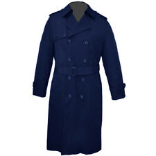 Anchor Uniform 761MT Mens All Weather Zipout Liner Navy Blue Trench Coat 38R