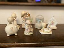 New ListingPrecious Moments Lot of 7 Figurines - Great Shape!