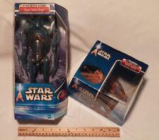 Star Wars Solar Sailer Action Fleet & Star Wars Super Battle Droid Action Figure