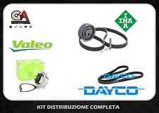 Kit distribuzione Volvo V50 2.0 D 100kw INA Pompa Valeo chinghia servizi Dayco