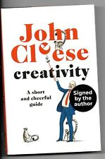 John Cleese Creativity Book Hand Signed Monty Python Fawlty Towers Autographed