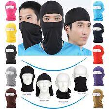 3pcs Balaclava Full Face Cover Mask Anti-UV Sunscreen Breathable Bike Motorcycle