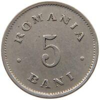 ROMANIA 5 BANI 1900 #s34 571
