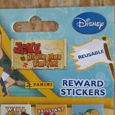 Reusable Jake and The Never Land Pirates Reward Stickers Disney Panini
