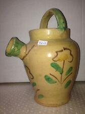 VASO IN CERAMICA DI BURGIO DIPINTO A MANO old vase BG03