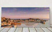 St Ives harbour sunrise panoramic canvas print Cornwall framed picture