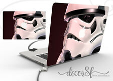 "Stormtrooper 13"" Macbook wrap cover - Star Wars macbook 13 inch - macbook decals"