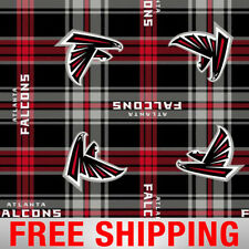 "Atlanta Falcons NFL Fleece Fabric - 60"" Wide - Style# 14717 - Free Shipping!!"