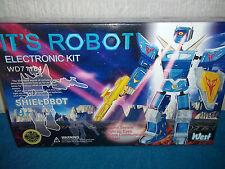 IT'S ROBOT ELECTRONIC KIT - SHIELDBOT - SOUND SENSOR, VOICES... - NEW & SEALED