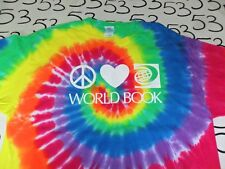 XL- World Book Tye Dye T- Shirt