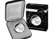 (PL)2006 AUSTRALIA 150 YEARS OF NEW SOUTH WALES STATE GOVERNMENT $5 SILVER PROOF