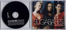 SUGABABES Follow Me Home UK 2006 1-track promo CD