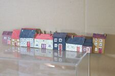 HORNBY BACHMANN LIMA OO KIT BUILT TERRACE HOUSE BACKDROP MODEL SCENE 5 mt